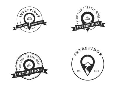 Intrepidor Logo Variants