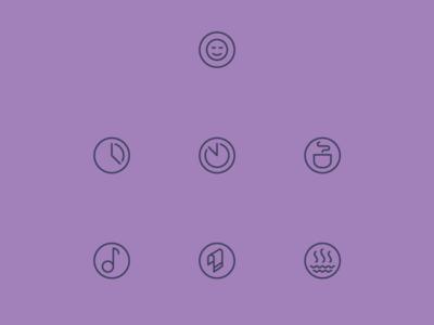 Tiny Spa Icons