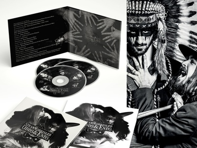 Album Cover Art - Steam Morrisler packaging photography design fun art art direction music