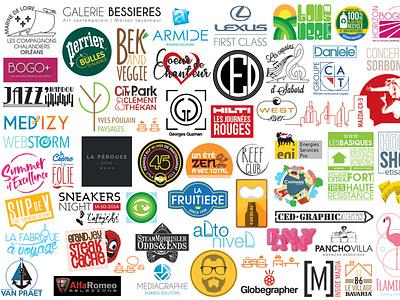 Logo bundle logo art direction brand identity logo design