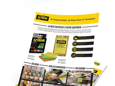 3M Advertising advertising art direction brand and identity layoutdesign
