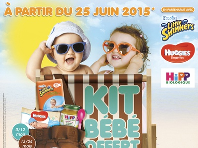 Summer Promotional Poster - Total Gas Station (France) art direction promotional design poster design