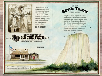 From DeadWood to DevilsTower traveljournal travelbook illustration drawing travel watercolor