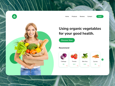 Organic vegetable website organic food organic vegetable organic design website design status tomato cabbage vegetable vegetables designtek tekono