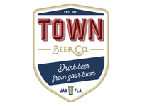 Town Beer Co Badge