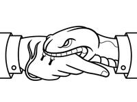 Snake Handshake
