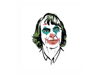 Joaquin Phoenix/The Joker dccomics illustration comic art dc comics dc batman joker the joker joaquin phoenix