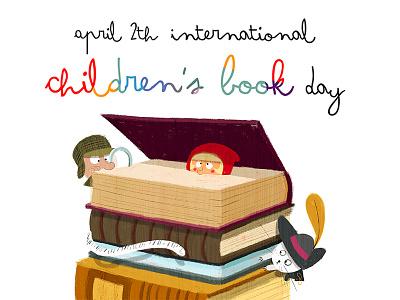 International Children's Book Day design characterdesign illustrator cover childrenbook illustration