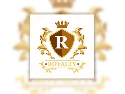 ROYAL LOGO DESIGN design illustrator cc logo icon graphic design
