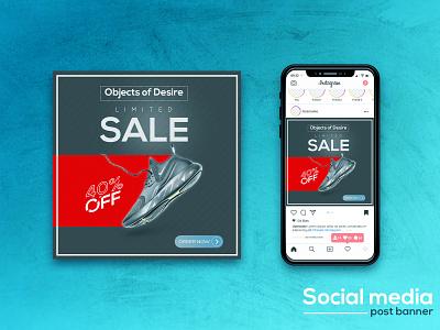 Social media post banner design branding minimal design photoshop graphic design illustrator cc social media post banner design