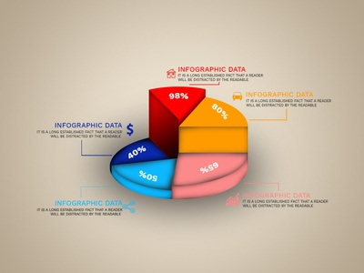 Infographic Circle Graph infographic circle graph infographic circle graph photoshop graphic design