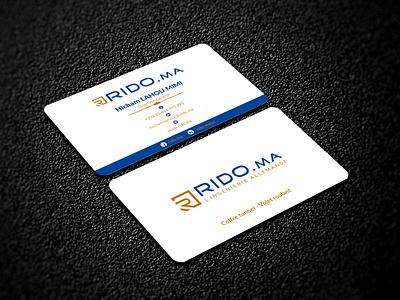 Business Card minimal business card design photoshop graphic design business card