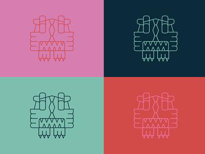 RawrXoxo Identity Extras lion brand assets brand identity graphic design typography branding logo design vector illustration