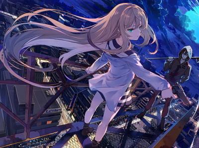 Angels Of Death web animation kinda romance thriller anime