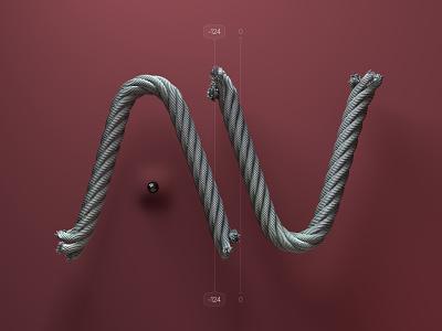 Kerning pairs for designers – AV kerning alphabet 3d type cinema 4d c4d 3d typo type letters illustration