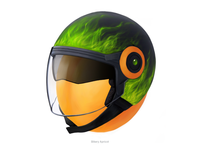Biker Apricot • Series of avatars for colleagues