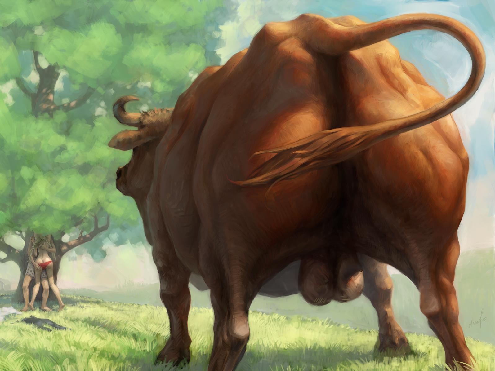 Картинки бык фэнтези