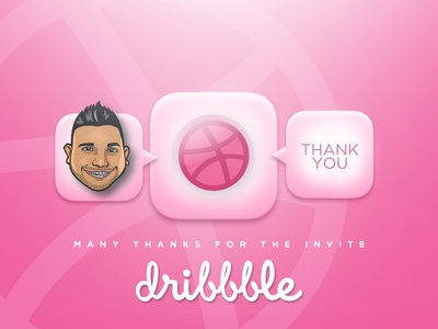 Thank you, Dribbble