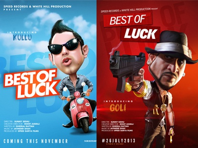 Movie Posters - Best of Luck