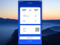 Board Pass UI #02