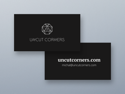 Our business cards identity branding pring design simple clear business cards