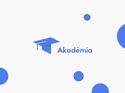 """T"" Academy logo university flat branding t school academy logo"