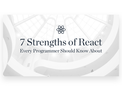 Designers Should Code! white design feature blog code react