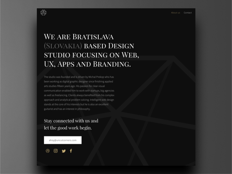 Uncut Corners new website