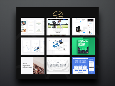 Uncut Corners new website semplice studio portfolio ux ui black dark web