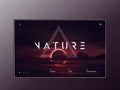 nature путешествие закат луна природа