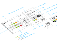 Time Tracking Widget   App UX Design