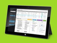 Windows 8 Healthcare Application Design