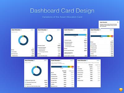 Dashboard Card Design interface web tile design widget ux design visual design ui design dashboard design app design responsive design chart design