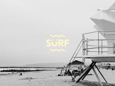 SÜRF like there is no tomorrow. design typo 80s logo mood vibe sun summer beach surfing