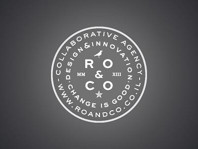 Ro & Co. emboss stamp stamp logo emboss roco
