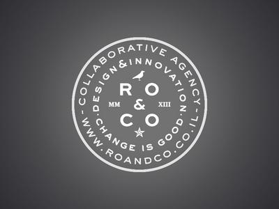 Ro & Co. emboss stamp