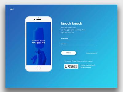 simple login page blue website login simple