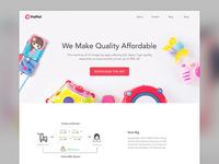 PatPat app - Promotion website