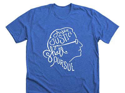 RBG Justice Tee social justice rbg politics apparel design illustration