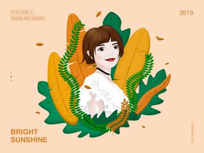 girl cool girl ui girl illustration