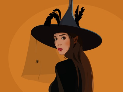 Halloween All Saints' Day girl girl illustration