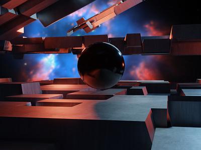 Random Scifi photoshop blender scifi render 3d art 3d