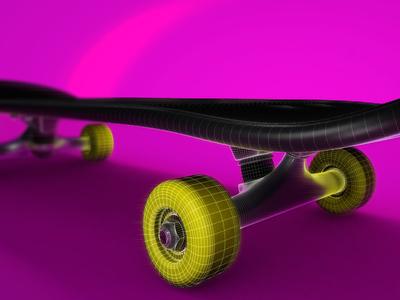 Skateboard pop