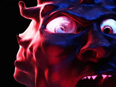 25 05 2019 First Blender Sculpt render sculpture blender dark 3d art 3d