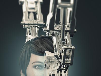 """23 04 2019 """"Robo future"""" future c4d 3d art 3d"""