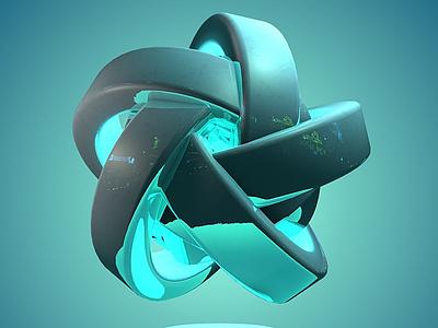 SpinDrive0067 logo design ambient occlusion animation render 3d art c4d 3d