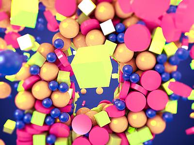 D Particles particles ambient occlusion animation render 3d art c4d 3d
