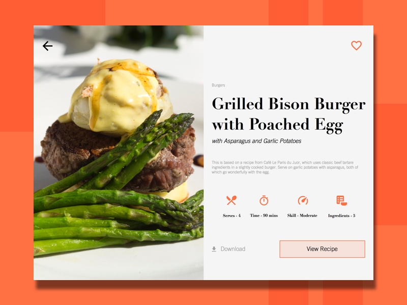 Dribbble day 9 recipe cardg by dane wesolko day 9 recipe card forumfinder Images