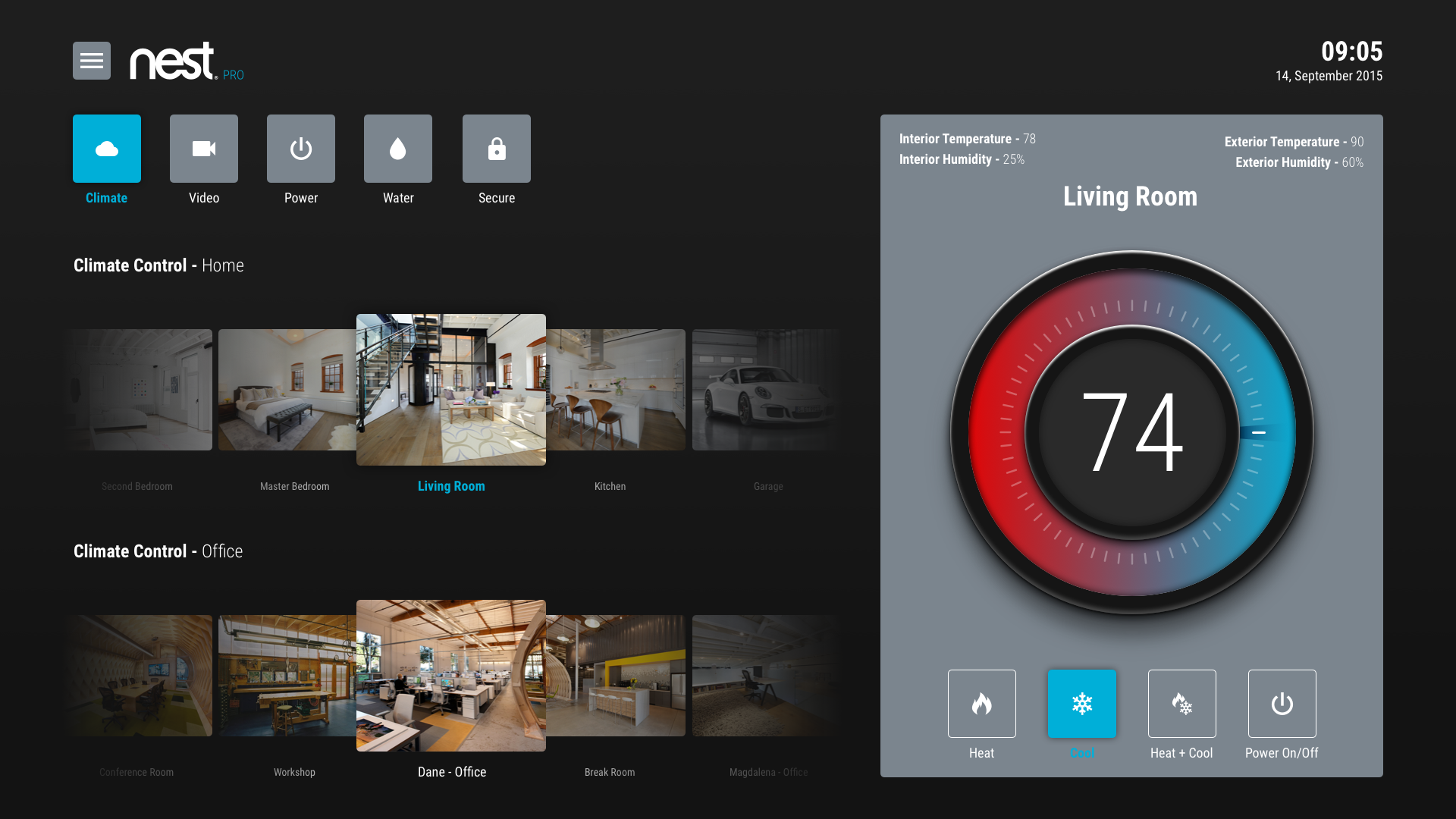 Dribbble Google Nest Pro For Android Tv Climate Png By