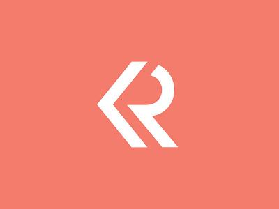 KR Logo personal brand logo branding identity